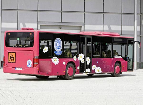 大型巴士车应用案例